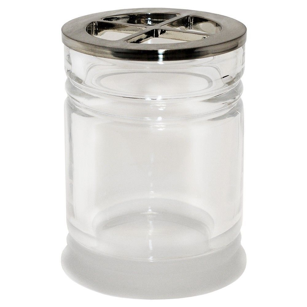 Threshold Toothbrush Holder - Frosted/Clear