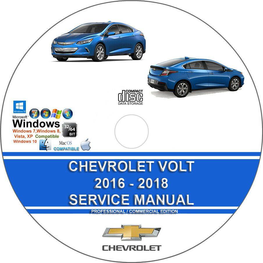 Advertisement Ebay  Chevrolet Volt 2016 2017 2018 Service