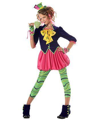 Kids the Mad Hatter Costume Wholesale Tween Halloween Costume for