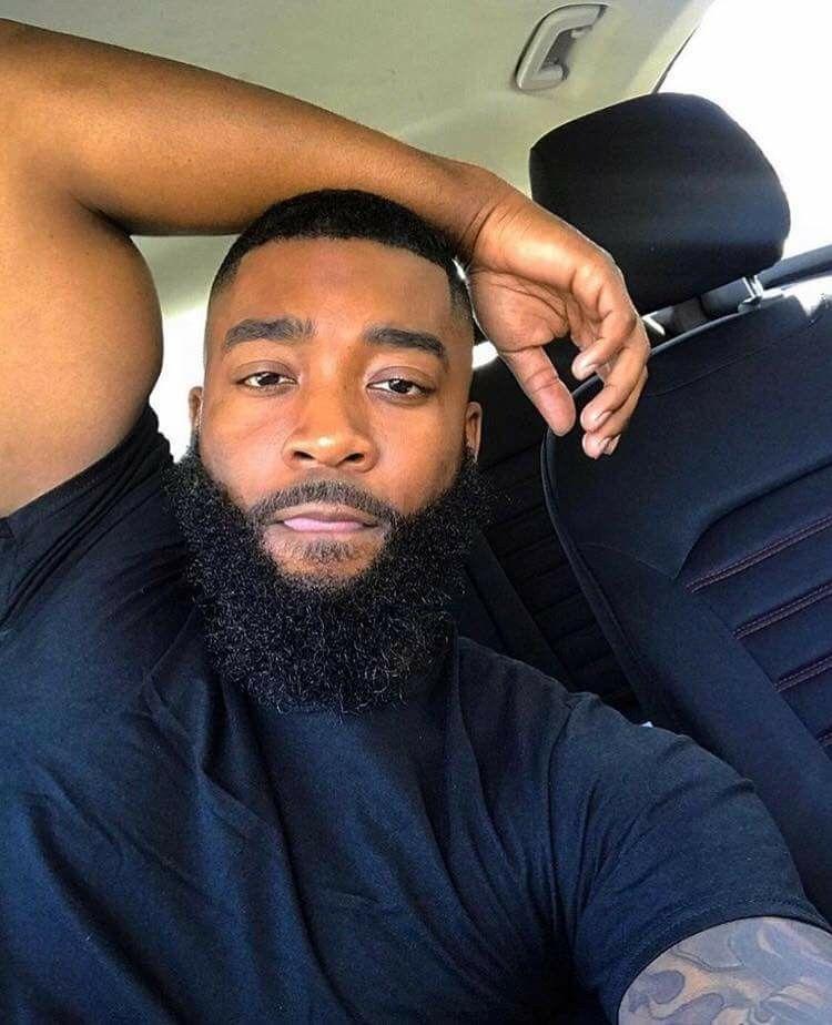 Guy with beard selfie