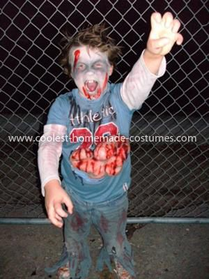 Coolest Child Zombie Costume 53 My Son Wanted To Be A This Year
