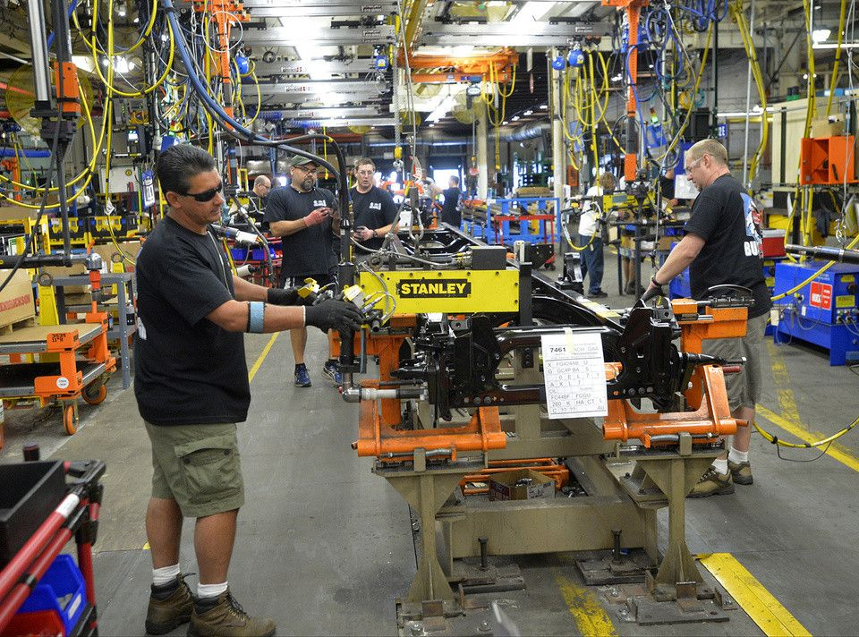 Manufacturing job creation at fastest pace since 2014