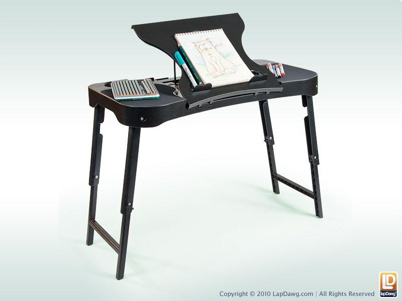 the pug as a writing desk | Lap desk Desk Standing desk