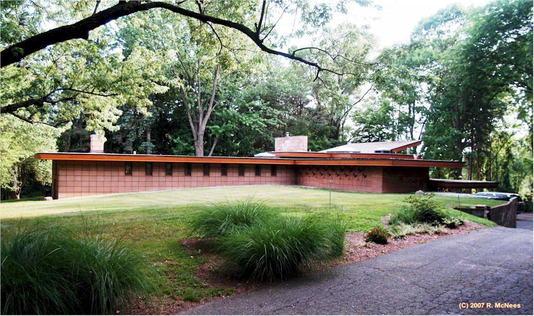 Levin House Frank Lloyd Wright Usonian House Usonian Style