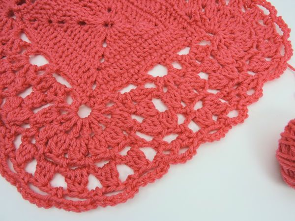 Crochetkim Free Crochet Pattern Cluster Lace Edging Trim Border