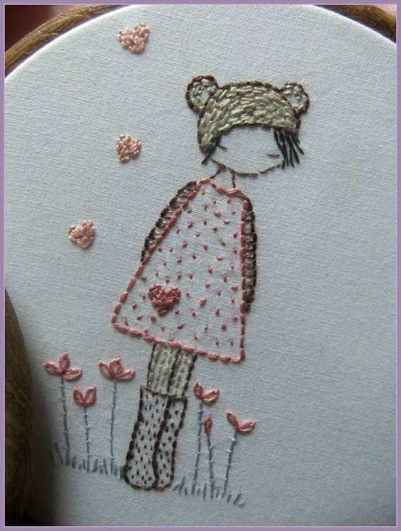 embroidery girl