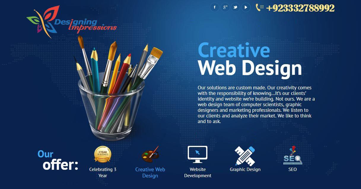 website online impression