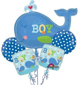 Whale Themed Baby Shower | Boy Baby Shower Decorations [Slideshow]