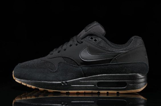 on sale c799a 08d02 ... sweden the nike air max 1 drops in a clean black and gum colorway eaaf2  26ca0