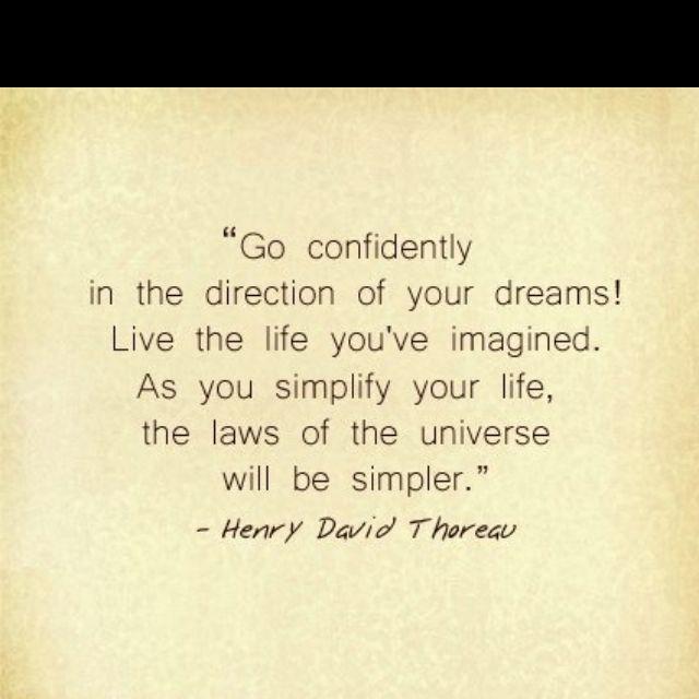 Go confidently...