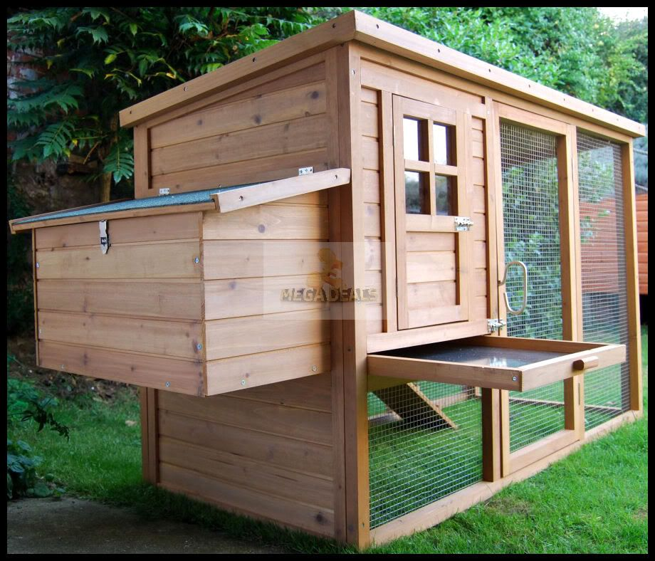 Rabbit hutch plans free coop hen house poultry ark for Build your own duck house