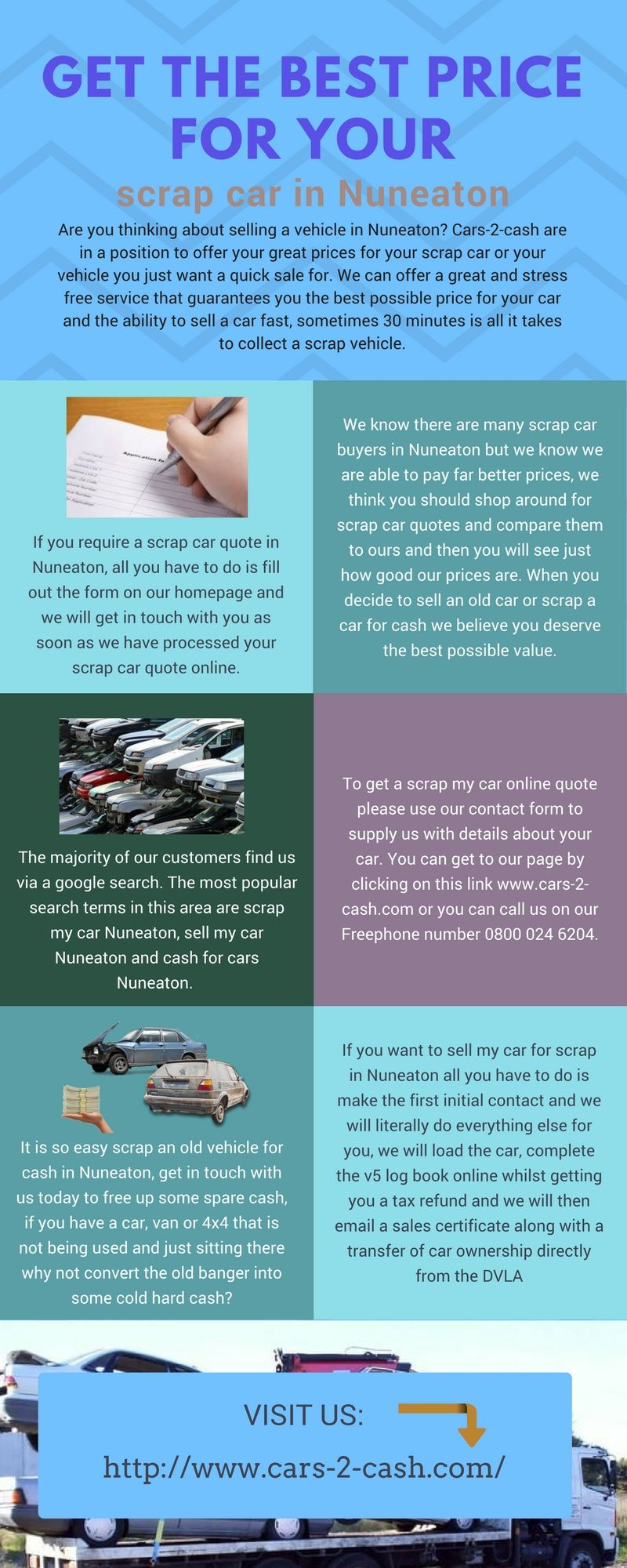 Are you thinking about selling a vehicle in Nuneaton? Cars-2-cash ...