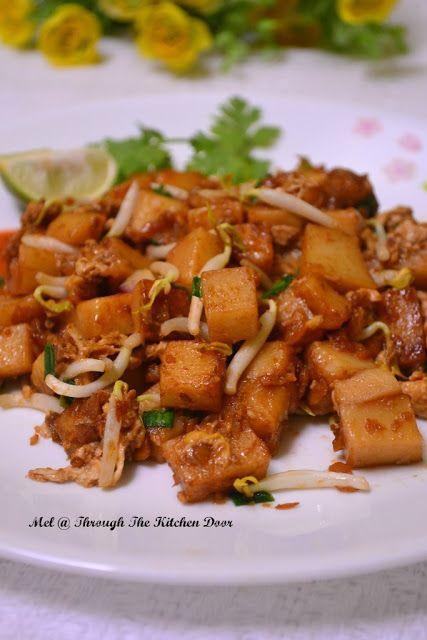 Through The Kitchen Door: Fried Cubic Noodles (Char Kuih Kak ...