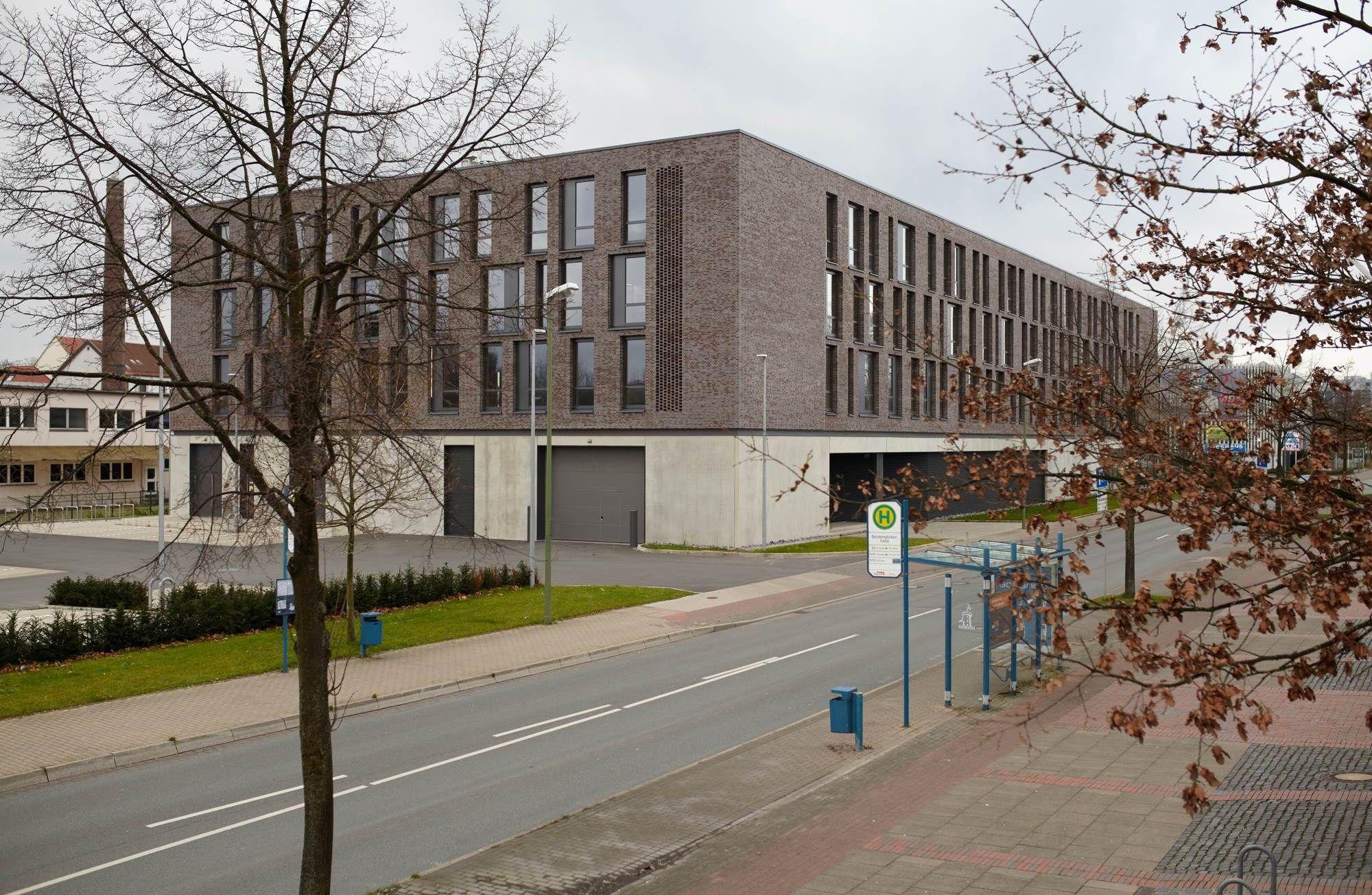 Gut gelöst Geschäftshaus mit Discounter in Bielefeld