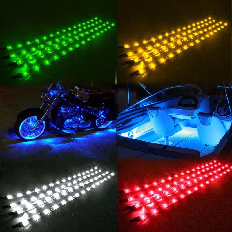 Led Strip Lights For Cars Waterproof Ip67 Led Strip Lights Car Styling Decorative Atmosphere