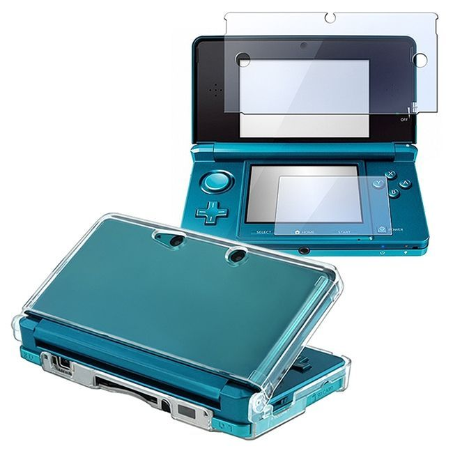 This is a 2piece accessory kit for Nintendo 3DS. Protect