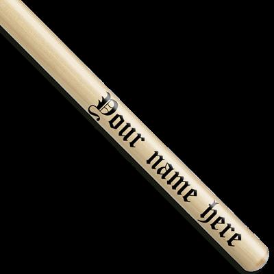 Signature Monogram Personalized Custom Drumsticks Personalized Drumsticks Custom Drumsticks Drumsticks