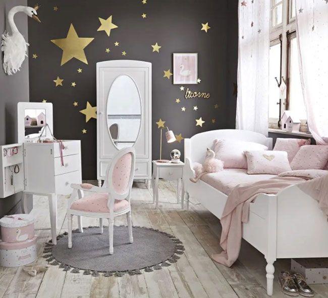Chambre De Princesse Chez Maisons Du Monde Deco Chambre Fillette Idee Deco Chambre Fillette Chambre Princesse