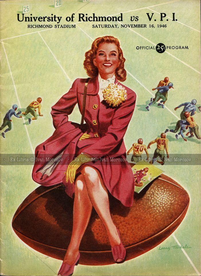 1946.11.16. Virginia Tech (Hokies) at University of