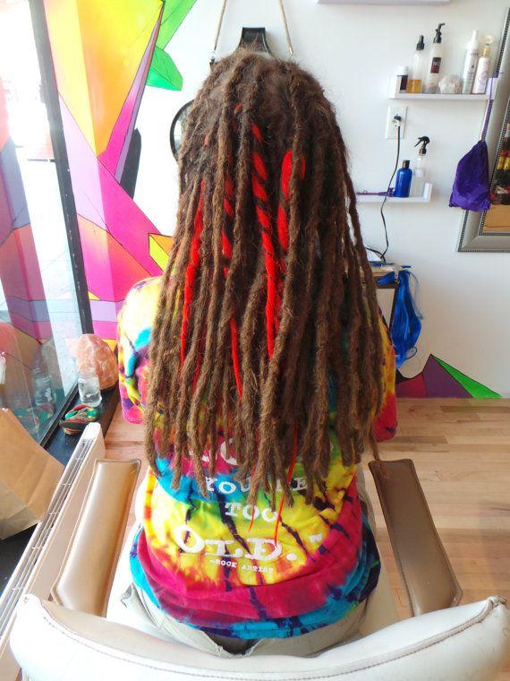 15 Human Hair Permanent Dreadlock Extensions From 850 Each