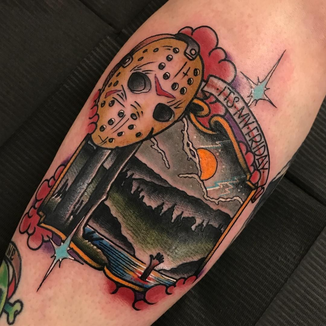 Friday the 13th tattoo by tylerharringtontattoos friday
