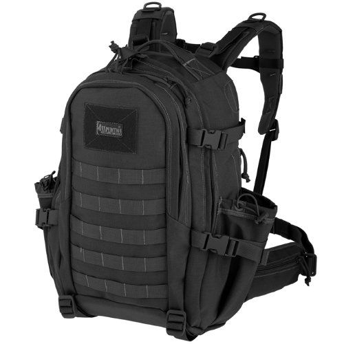 CONDOR TACTICAL COMPACT ASSAULT PACK SECURITY BACKPACK EDC URBAN RUCKSACK BLACK