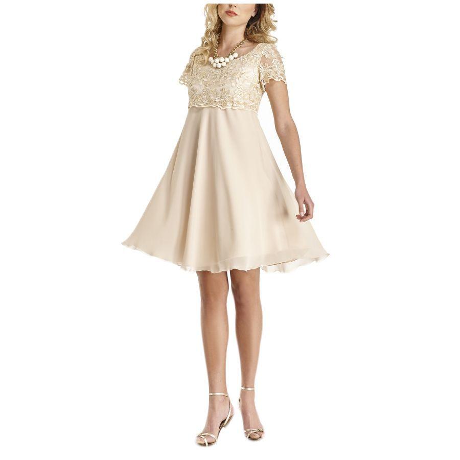 e389718e54e5 BRAVO Μίντι δαντελωτό φόρεμα