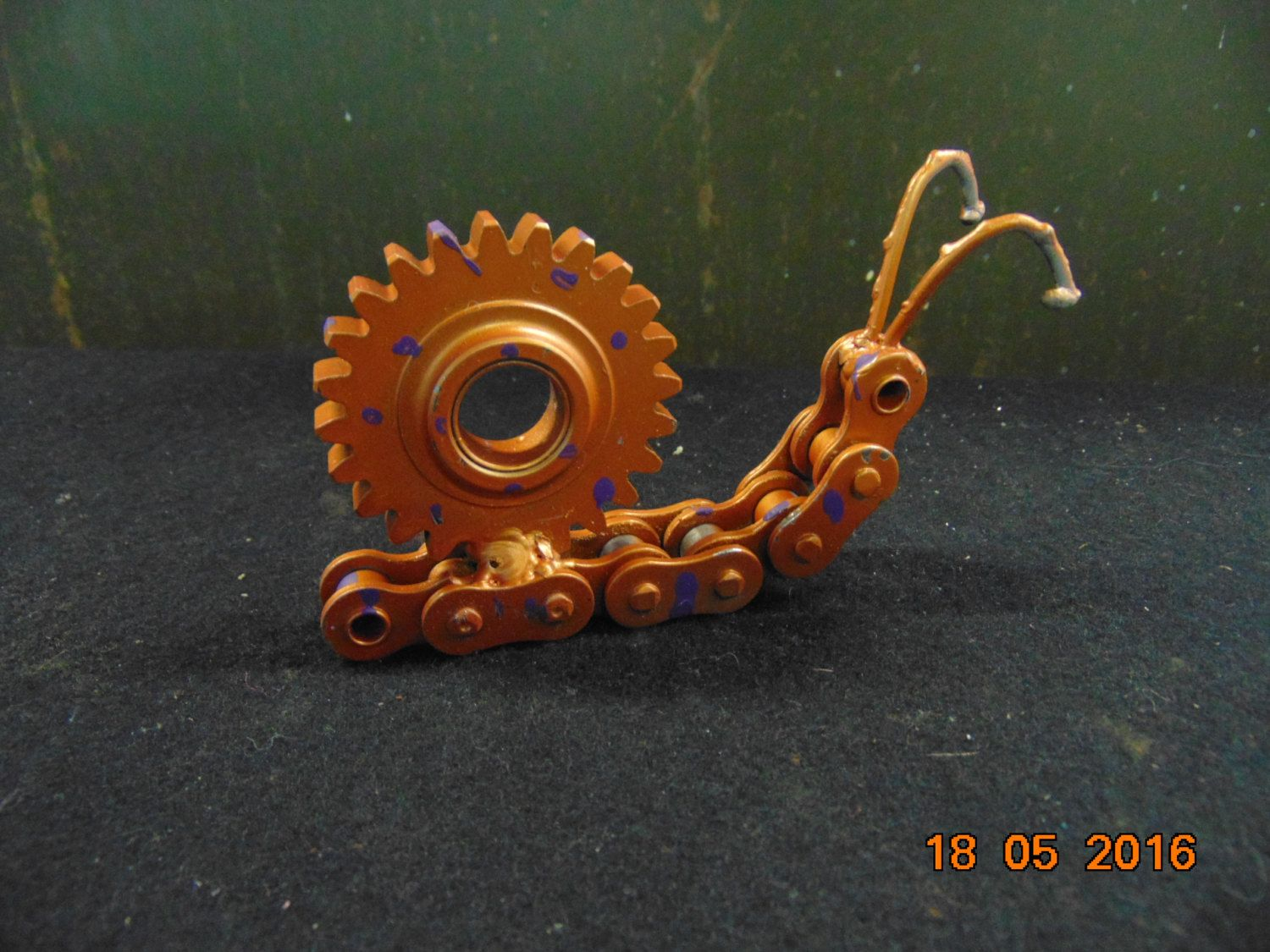 Recycled Metal Sculpture Snail By JKsHandmadeEmporium On Etsy