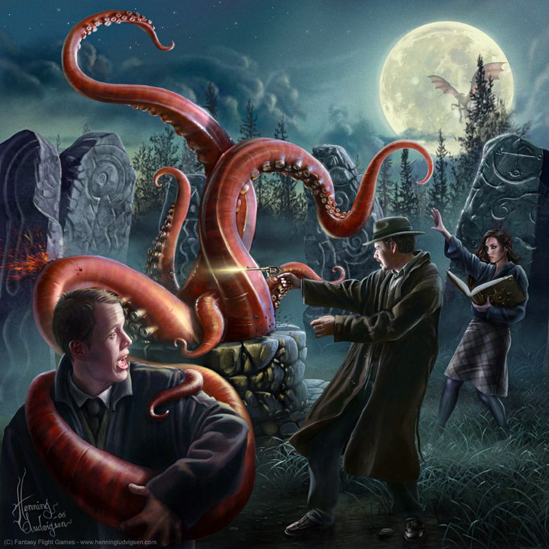 Call of Cthulhu, Arkham horror by *henning on deviantART