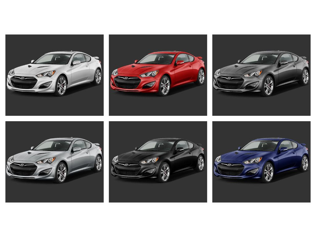 Hyundai Genesis Coupe 2015 Which Color Do You Prefer Hyundai