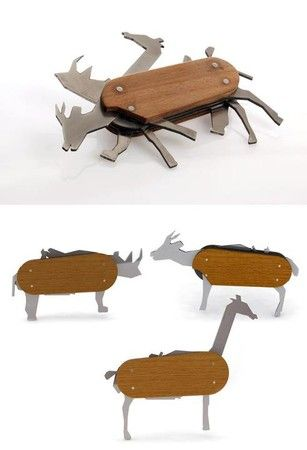 """Animal"" Pocket Knife by David Suhami"