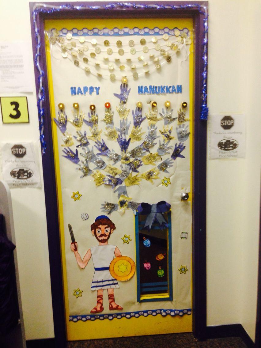 Hanukkah classroom door hanukkah classroom classroomdecor