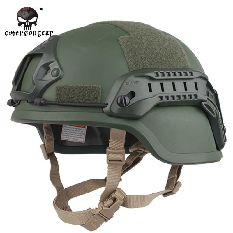 Emerson Ach Mich 2000 Special Vision Tactical Helmet Airsoft Paintball Emerson Helmet Military Helmet Em8978 8 Tactical Helmet Airsoft Helmet Military Helmets