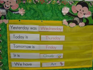 My First Grade Backpack: Decorating with Monkeys