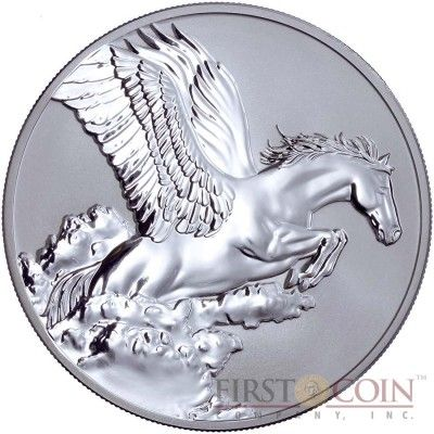 Tokelau Pegasus $5 Creatures of Myth & Legend Silver Coin Year of the Horse…