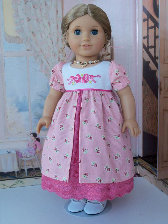 PDF SEWING PATTERN fits like American Girl Doll Clothes / Regency ...
