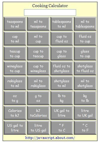 cooking measurement conversion chart cooking weights and - weight conversion chart