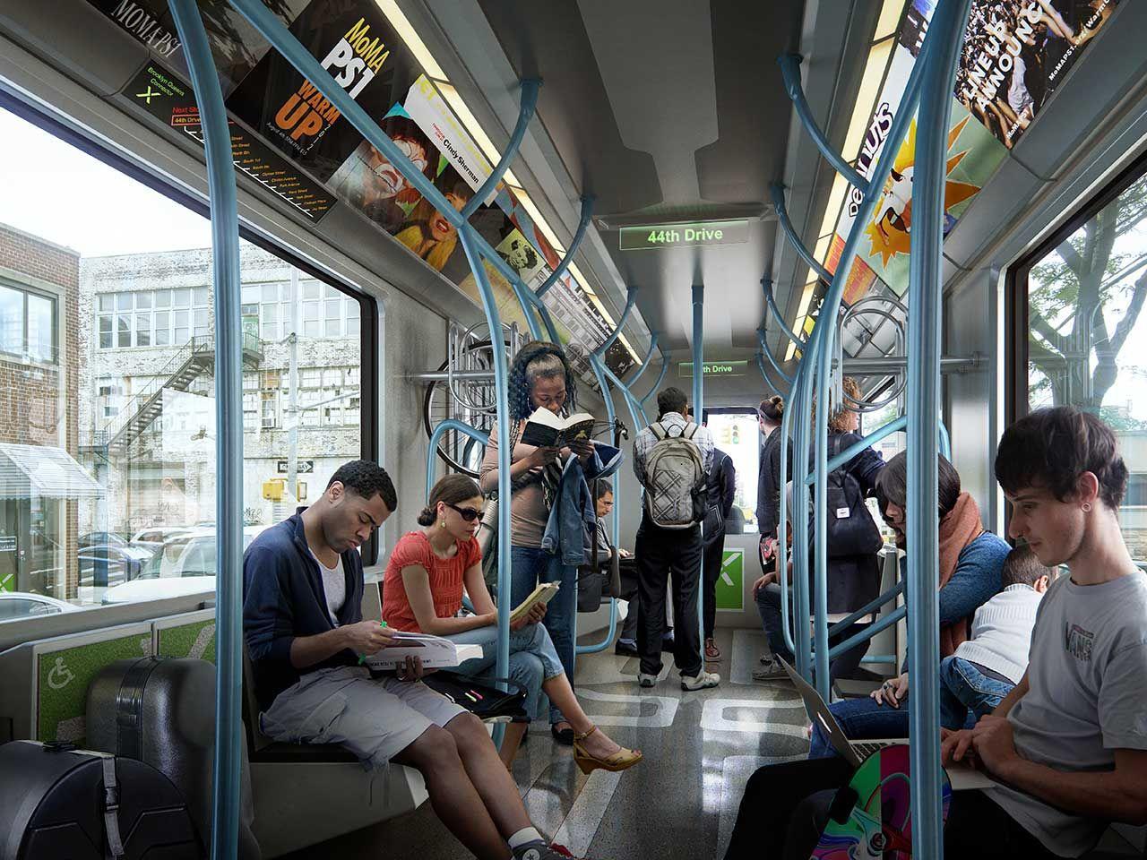 布鲁克林皇后区有轨电车(Brooklyn Queens Connector)品牌形象设计-古田路9号
