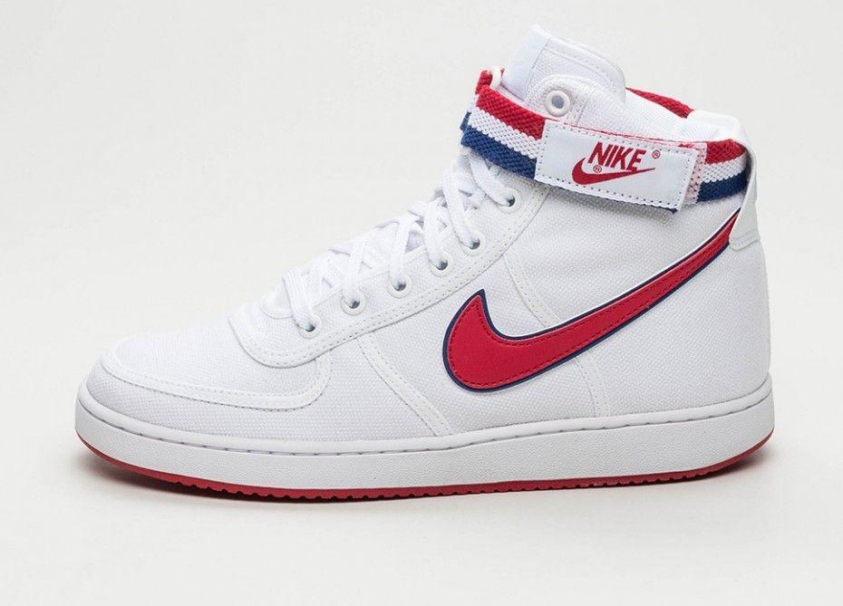 Nike   Nike Vandal High Supreme Blanco  Azul Gimnasio Rojo Deep Royal Azul  ee10e8