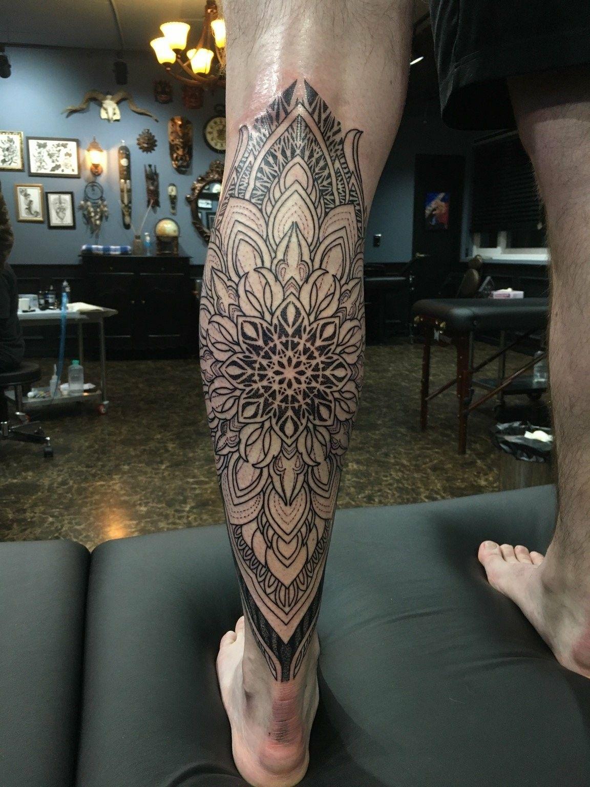 Magnifiek Pin by Kay Gillessen on Tattoo | Tatoeage ideeën, Mandala tattoo #KN26