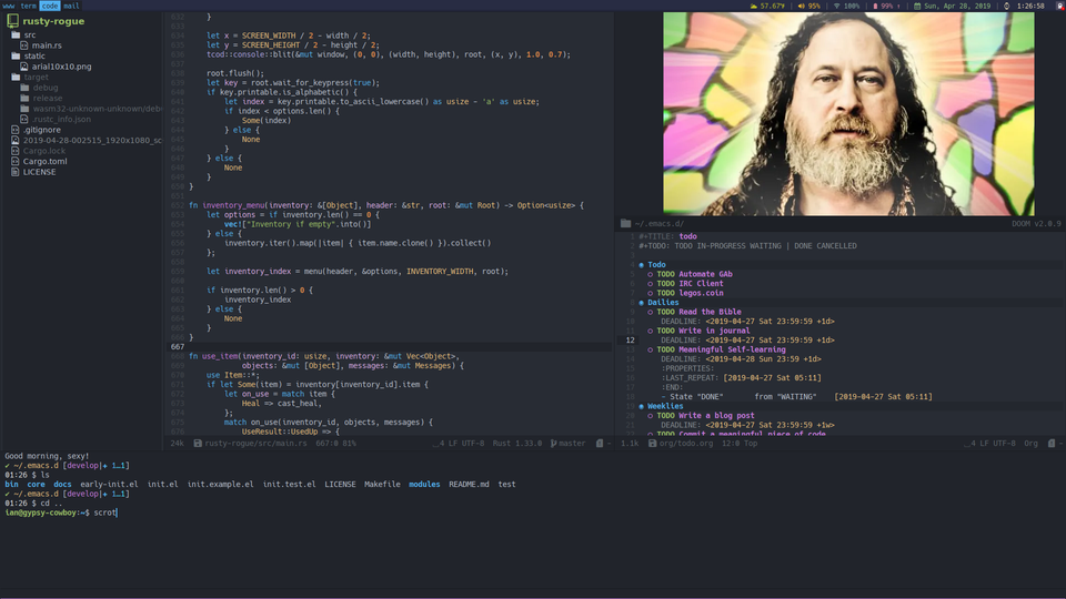i3] Learning to love emacs /r/unixporn | Desktop Customization in