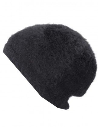 Dahlia Women s Angora Beanie Hat - Solid Color with Fleece Lining ... d0f60f52806f