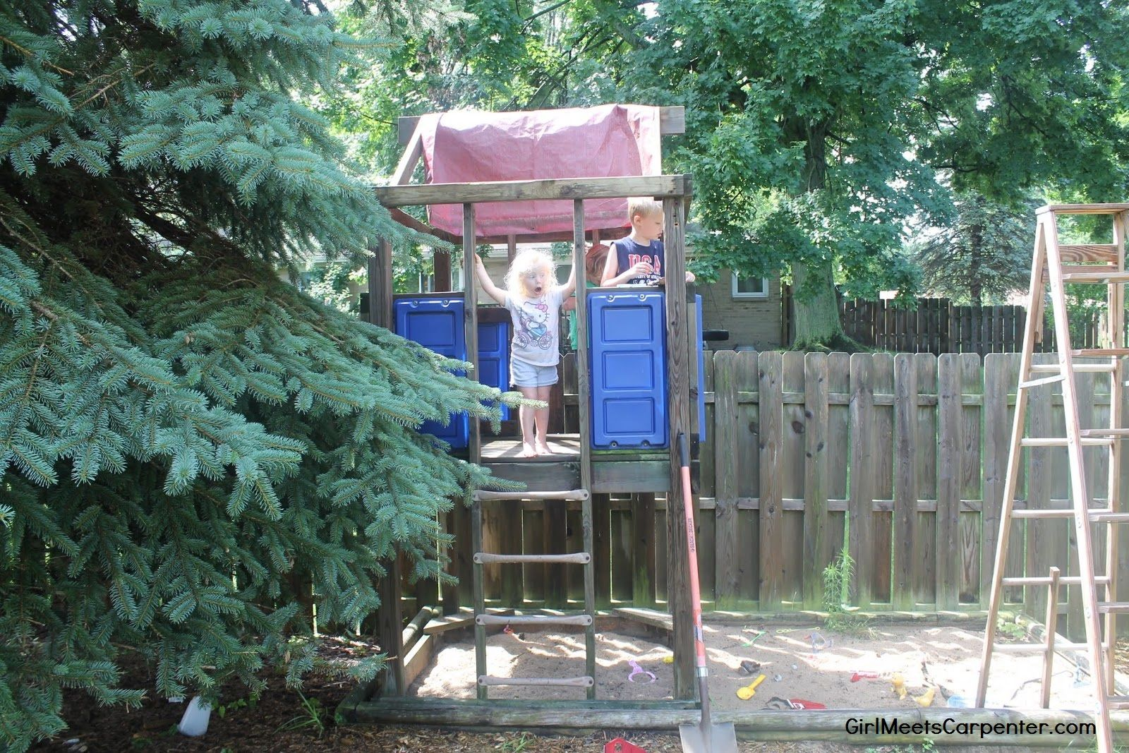 2 from backyard swing set to american ninja warrior course by