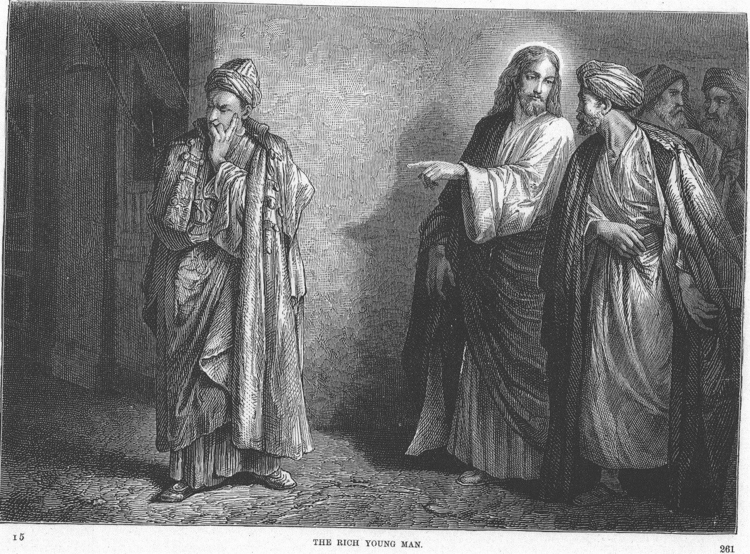 Alexandre Bida - Illustrations of the Life of Christ-The rich young man