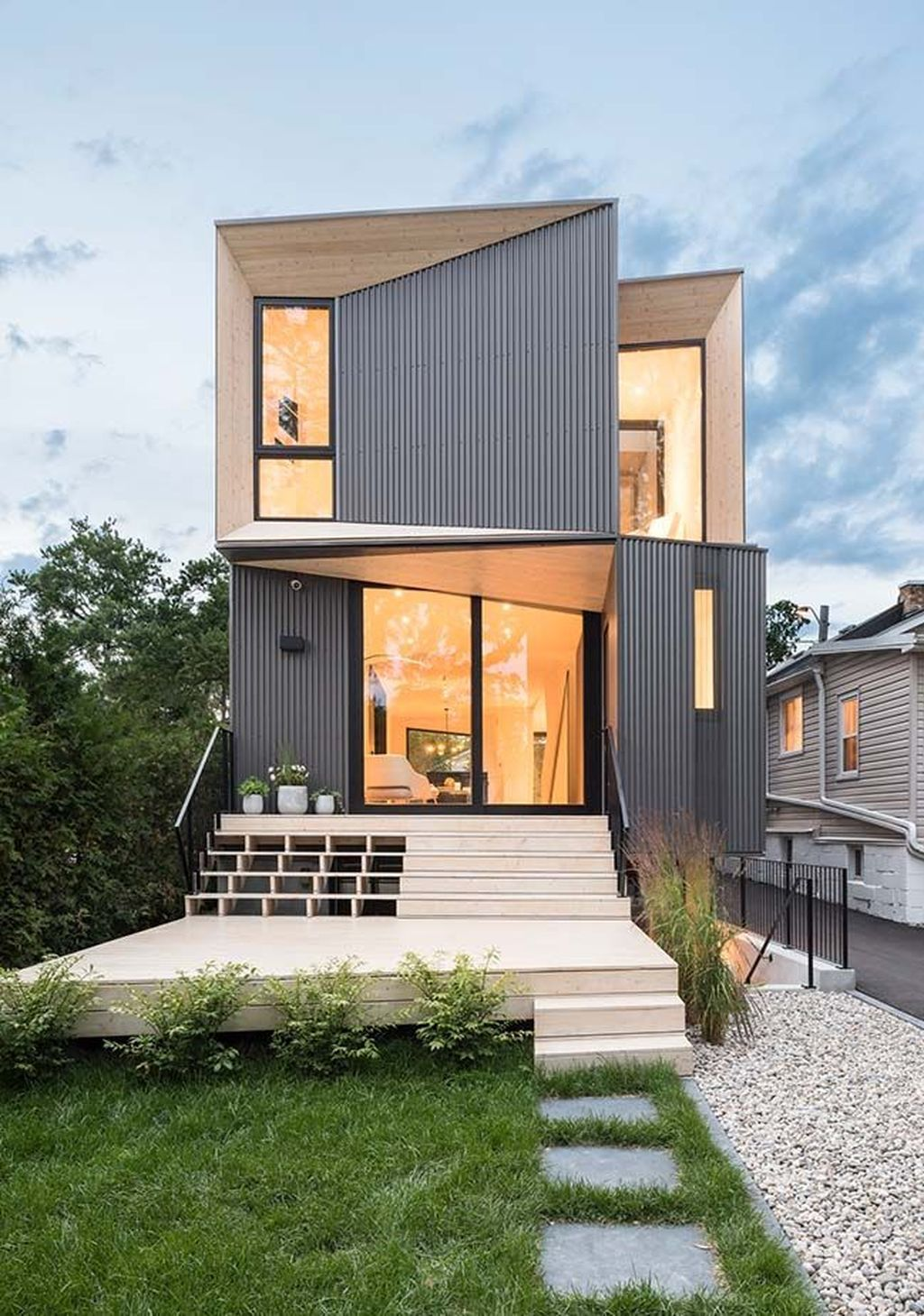 35 Awesome Small Contemporary House Designs Ideas To Try In 2020 (With Images)