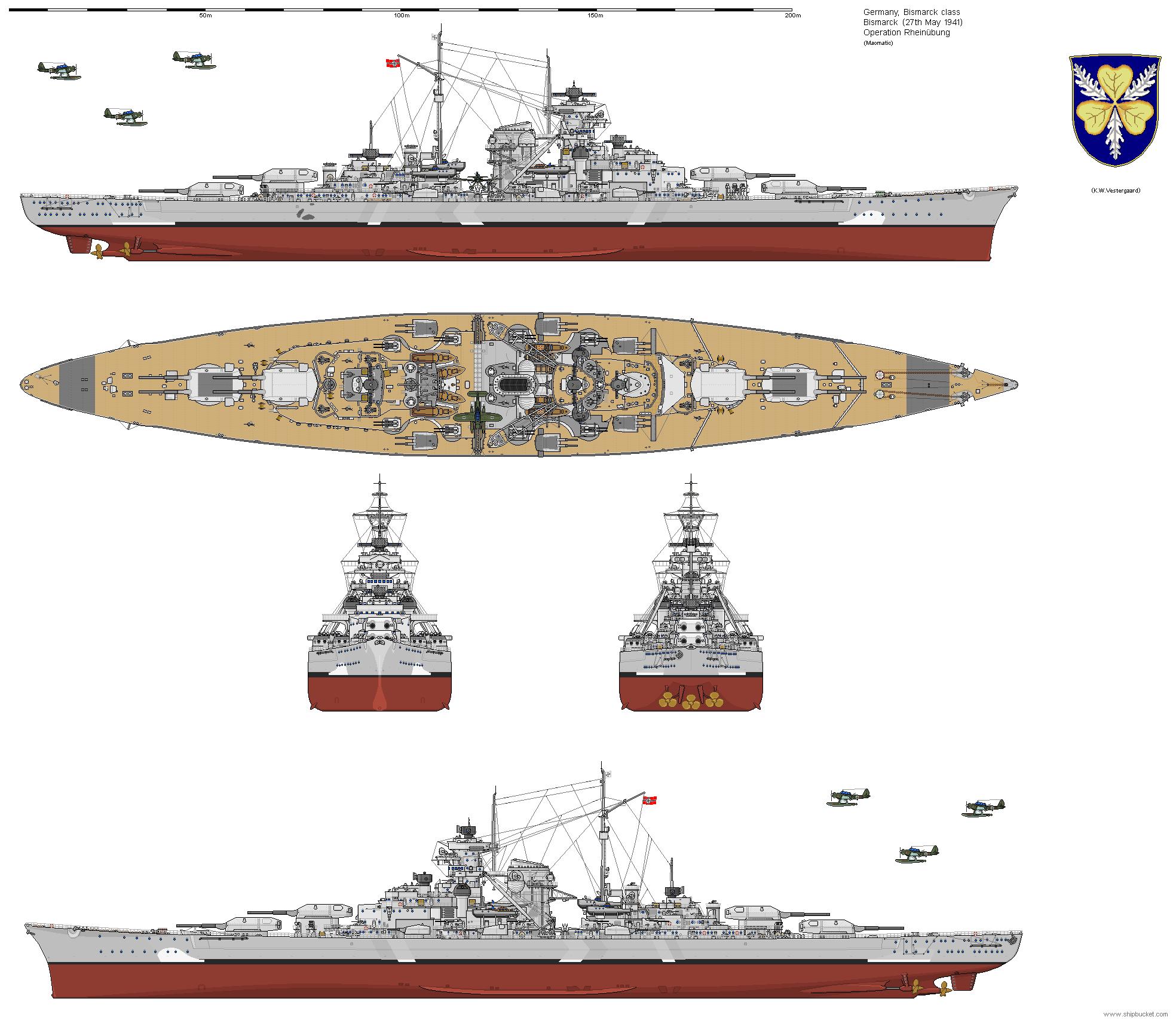 Ksm tirpitz corazzata classe bismarck entrata in for Cmd caldaie