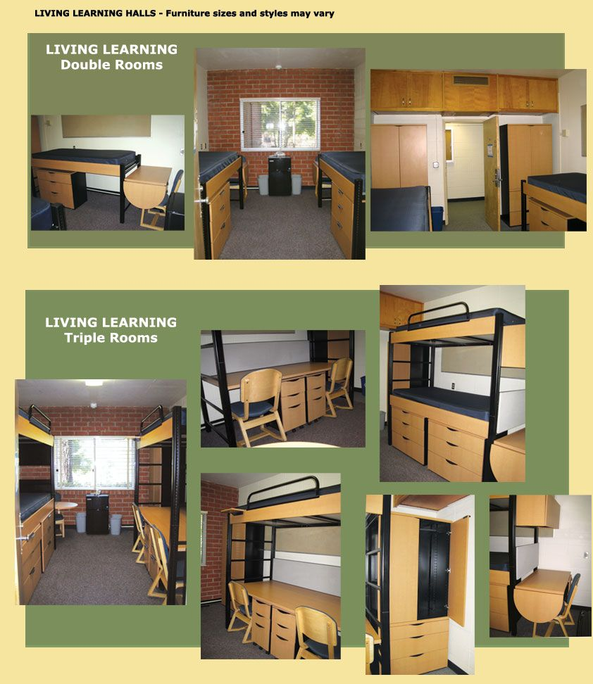 Double dorm room ideas - Cal Poly Slo Red Brick Dorms