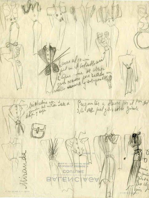 Risultati immagini per sketches balenciaga