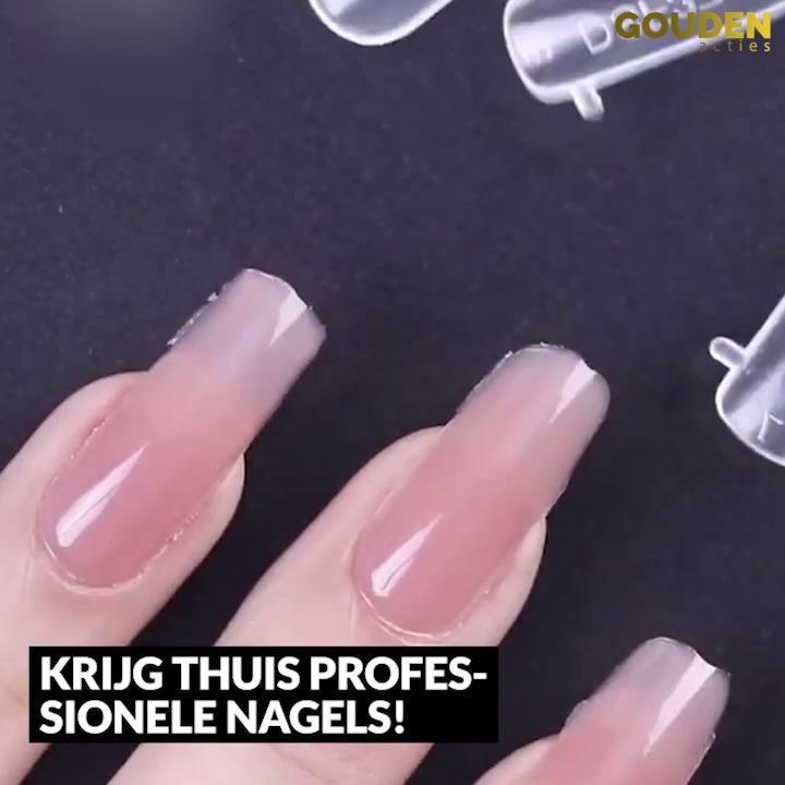 Prachtige nagels maak je thuis zelf!