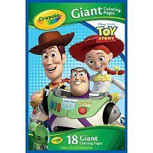 Crayola Giant Coloring Pages Disney Toy Story By Crayola 8 50 The Crayola Giant Color Pages Disney Pixar Toy Sto Crayola Toys Disney Pixar Toys
